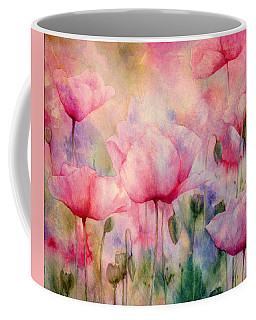 Monet's Poppies Vintage Warmth Coffee Mug