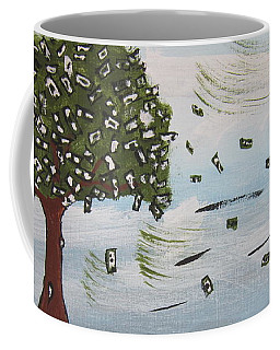 The Money Tree Coffee Mug by Jeffrey Koss