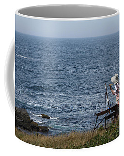 Monhegan Artist Coffee Mug