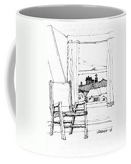 Monhegan Dawn Island Inn Coffee Mug