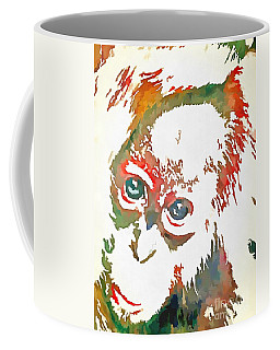 Monkey Pop Art Coffee Mug