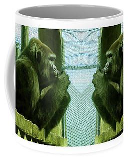 Monkey See Monkey Do Coffee Mug