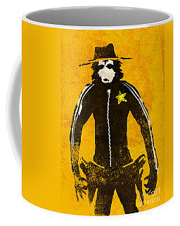 Monkey Sheriff Coffee Mug