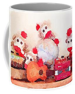 Monkeys And Music Coffee Mug