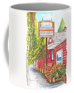 Mono Market Near Mono Lake In Lee Vining-california Coffee Mug