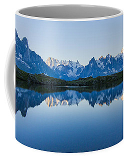 Mont Blanc Massif Panorama Coffee Mug