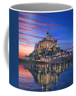 Mont Saint-michel Soir Coffee Mug