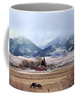 Montana Ranch - 1 Coffee Mug by Kae Cheatham