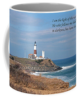 Montauk Lighthouse/camp Hero/inspirational Coffee Mug