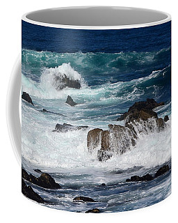 Coffee Mug featuring the photograph Monterey-6 by Dean Ferreira