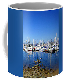 Coffee Mug featuring the photograph Monterey-7 by Dean Ferreira