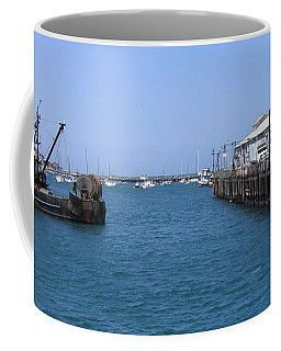 Monterey Municipal Wharf Coffee Mug