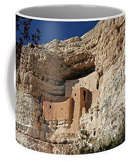 Coffee Mug featuring the photograph Montezuma Castle by Penny Meyers