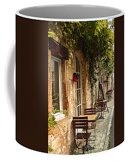 Coffee Mug featuring the photograph French Cafe by Dany Lison