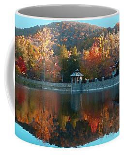 Montreat Autumn Coffee Mug by Lydia Holly