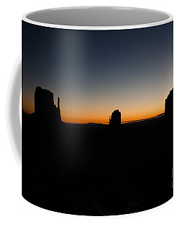 Monument Valley Sunrise Coffee Mug by Jeff Kolker