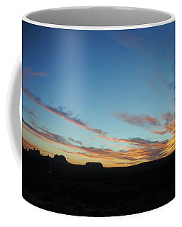 Monument Valley Sunset 2 Coffee Mug