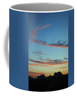 Monument Valley Sunset 3 Coffee Mug