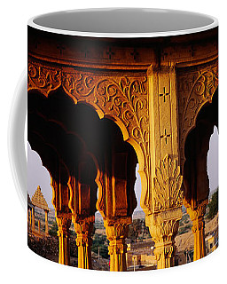 Monuments At A Place Of Burial Coffee Mug