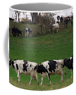 Moo Train Coffee Mug