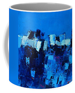 Mood In Blue Coffee Mug