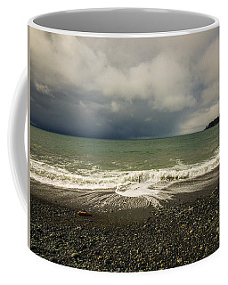 Moody Swirl French Beach Coffee Mug