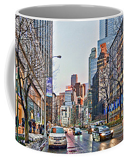 Moody Afternoon In New York City Coffee Mug