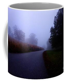 Moody Autumn Pathway Coffee Mug