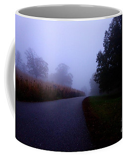 Moody Autumn Pathway Coffee Mug