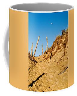 Moon And Dunes Coffee Mug