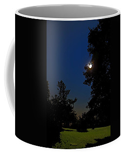Coffee Mug featuring the photograph Moon And Pegasus by Greg Reed