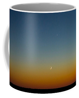 Moon And Venus I Coffee Mug by Marco Oliveira