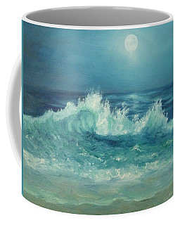 Moon Beach Painting Coffee Mug