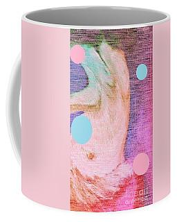 Coffee Mug featuring the painting Moon Dance by Ann Calvo