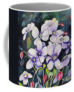 Moon Flowers Coffee Mug