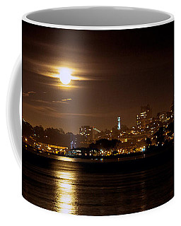Moon Glow Coffee Mug by Steven Reed