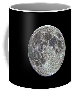 Coffee Mug featuring the photograph Moon Hdr by Greg Reed