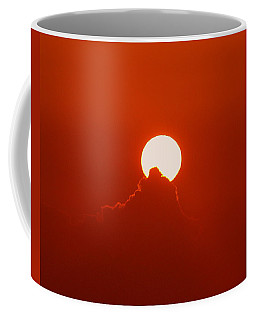 Coffee Mug featuring the photograph Moon Light by Athala Carole Bruckner