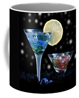 Moon Light Cocktail Lemon Flavour With Stars 1 Coffee Mug by Pedro Cardona