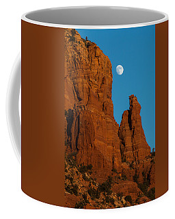 Moon Over Chicken Point Coffee Mug