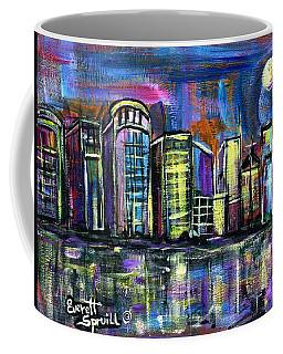 Moon Over Orlando Coffee Mug