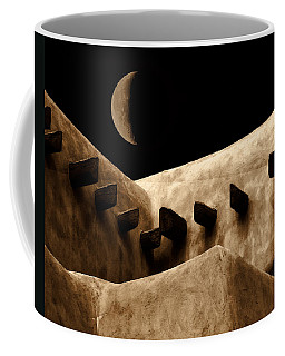 Moon Over Santa Fe Coffee Mug