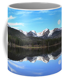 Moon Over Sprague Lake Coffee Mug