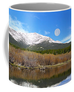 Moon Over St. Malo Coffee Mug