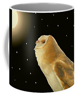 Moon Owl Coffee Mug