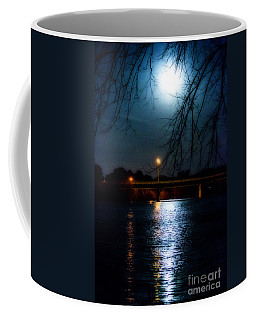 Moon Set Lake Pleasurehouse Coffee Mug