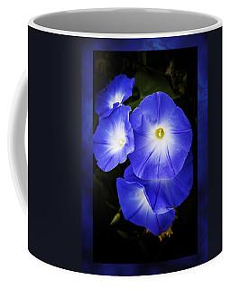 Moonglow On Blue Coffee Mug