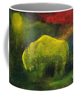 Moonlight Buffalo Coffee Mug