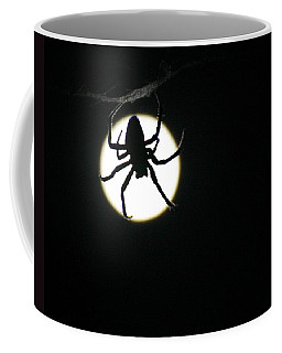 Coffee Mug featuring the photograph Moonlight Hunter by Christopher McKenzie