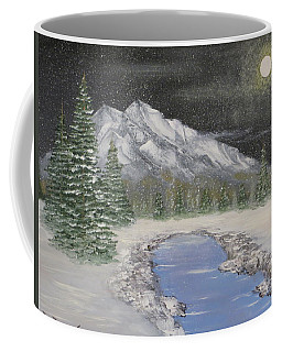 Moonlight Mountain Coffee Mug by Tim Townsend